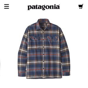 Patagonia Men's Long Sleeved Flannel Shirt